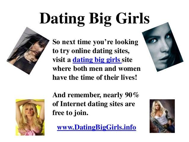 Big men dating sites