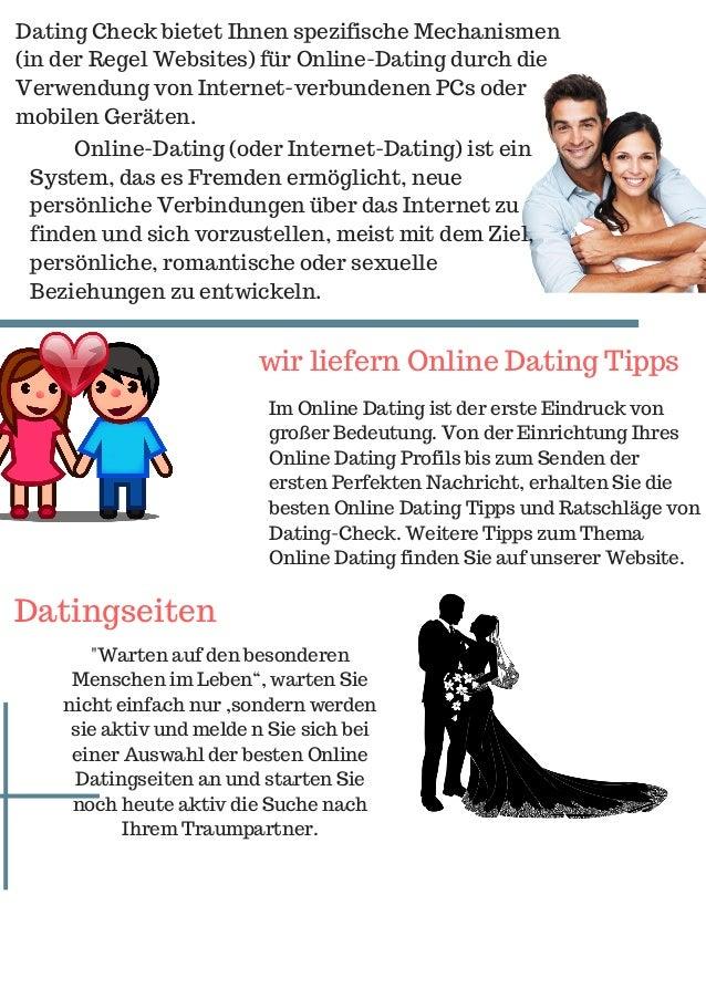 Ich möchte eine Online-Dating-Seite starten