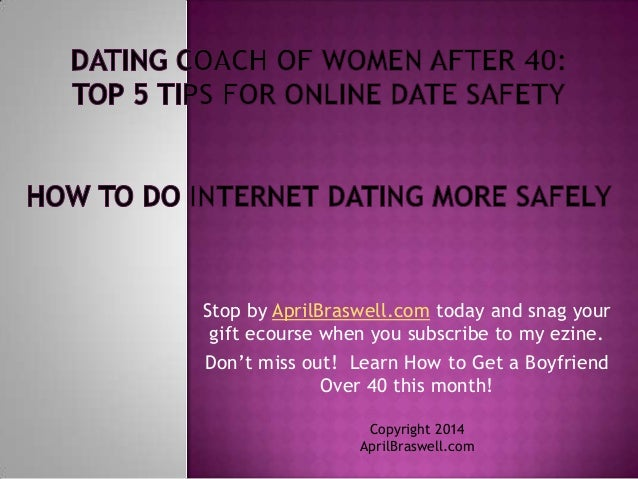 safe dating tips for women