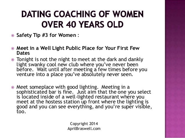Dating over 40 advice for men
