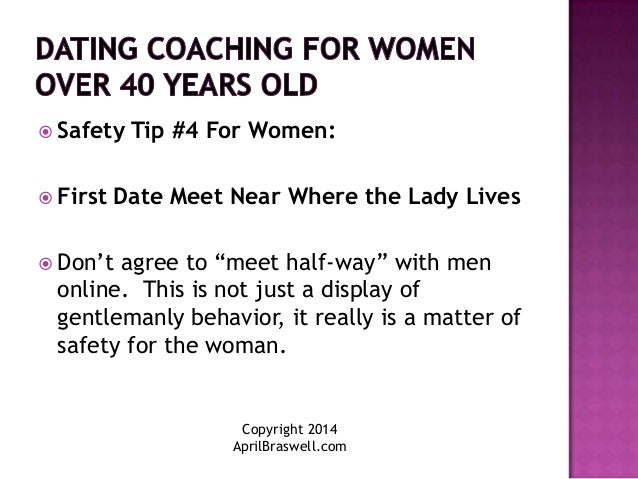 Dating advice for men over 40