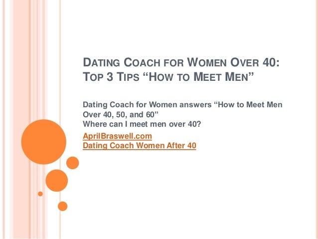 How to meet women over 50