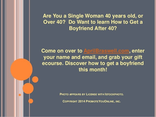 Online dating advice for women over 50