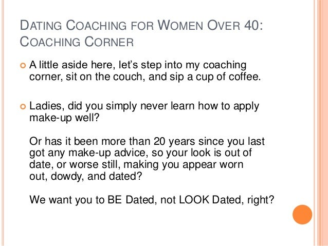 Dating tips for over 40