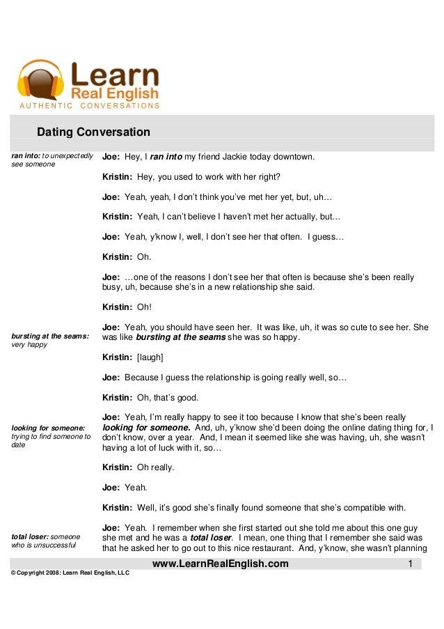 ESL Conversation Questions - Online Dating