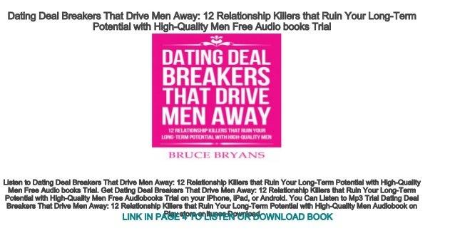 Deal breakers in dating relationships