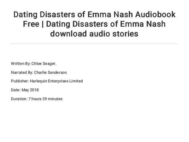 Dating Disasters of Emma Nash | Chloe Seager | ISBN: 9781335017055 | Kostenloser Versand für alle Bücher mit Versand und Verkauf duch Amazon.