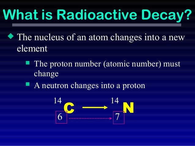 bad things about radioactive dating