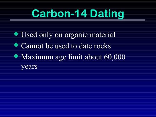 Radiocarbon dating max