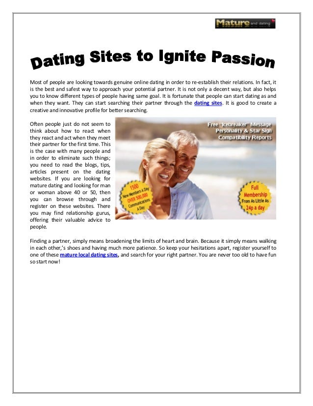 Passion dating sites