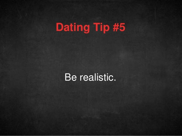 Dating tips from the doctor