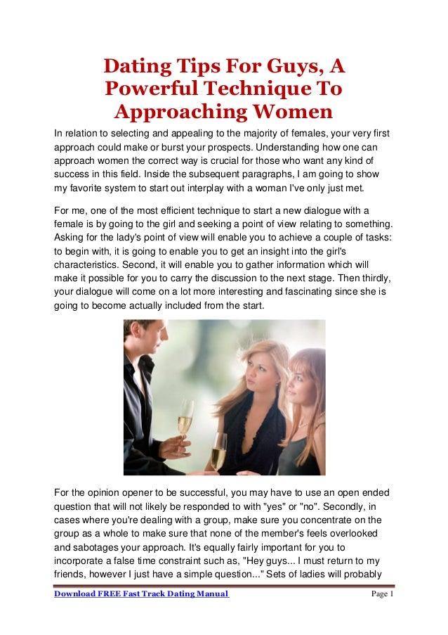 Tips voor dating guys Dating punt