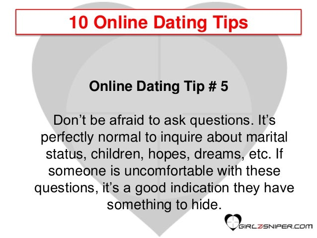 Online dating questions to ask men