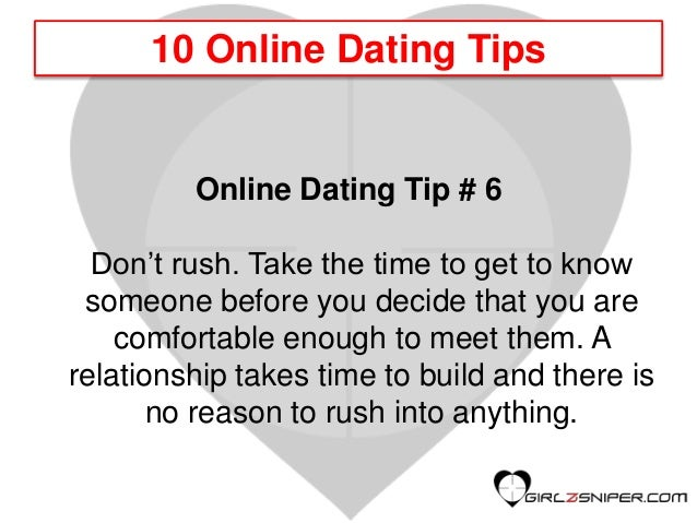 To Someone Dating Know Get How To When