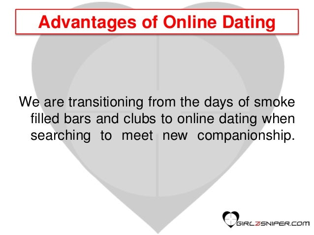 Pros of online dating