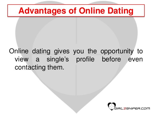 Online dating strategies