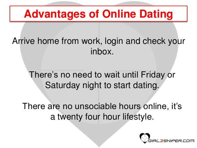 Online dating sites advantages