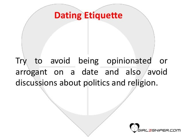 dating etiquette video online