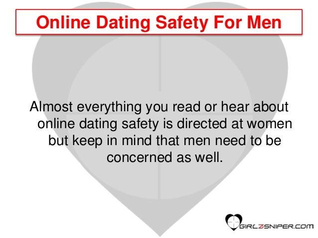 Online dating safety for men