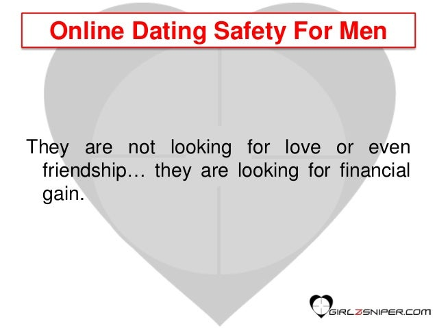 Online dating from a male perspective