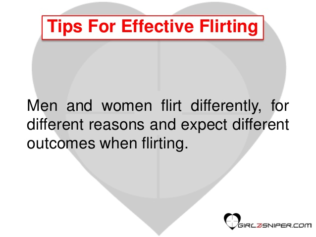 Effective Flirting Pointers For Women 1