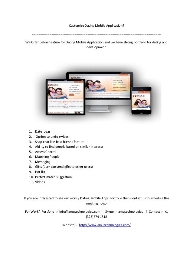 How to make dating website