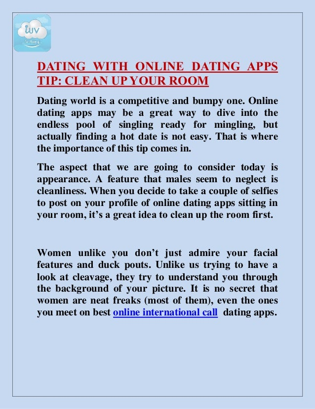 Online dating is appearance based