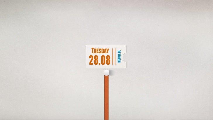 Tuesday          BIGDATA.BE28.08