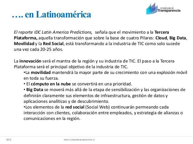 Plataformas que faciliten acceso al ejercicio del Derecho de Acceso a Información Slide 3