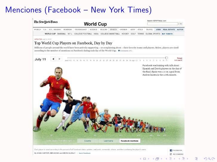 Menciones (Facebook – New York Times)