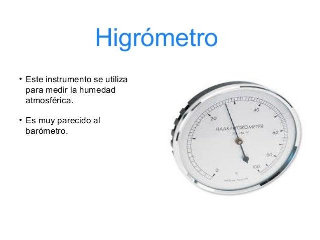 Datos meteorologicos mejorado - Aparato para la humedad ...