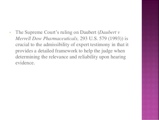 an analysis of daubert and frye standard Daubert standard and open source/proprietary tools home forum index legal issues daubert standard and open source/proprietary  the daubert (or frye) standard.