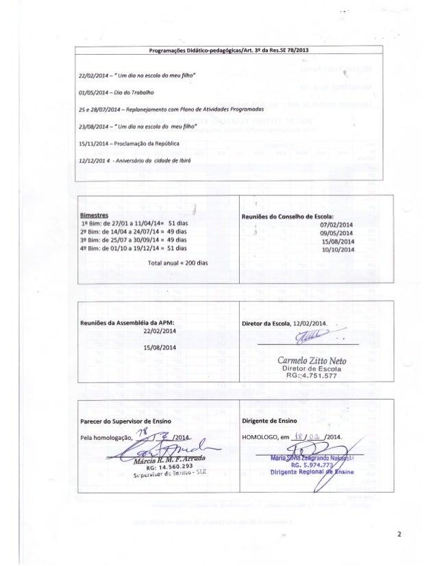 Plano Gestão EE Prof Daud Jorge Simão