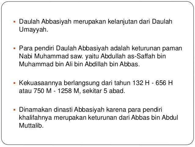 49++ Pendiri daulah abbasiyah yaitu ideas in 2021