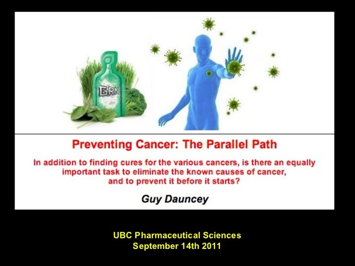 UBC Pharmaceutical Sciences September 14th 2011