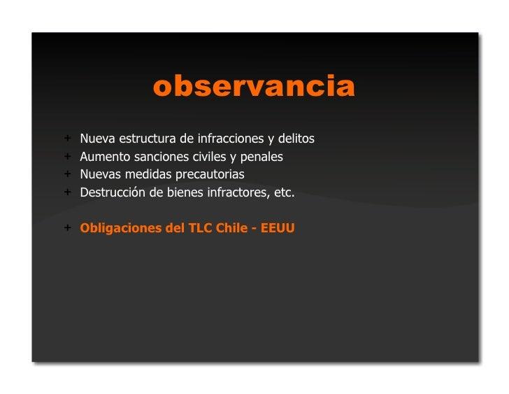 excepciones+ Nuevo derecho de cita+ Para discapacitados+ Para demostración y exhibición+ Para bibliotecas y archivos s...
