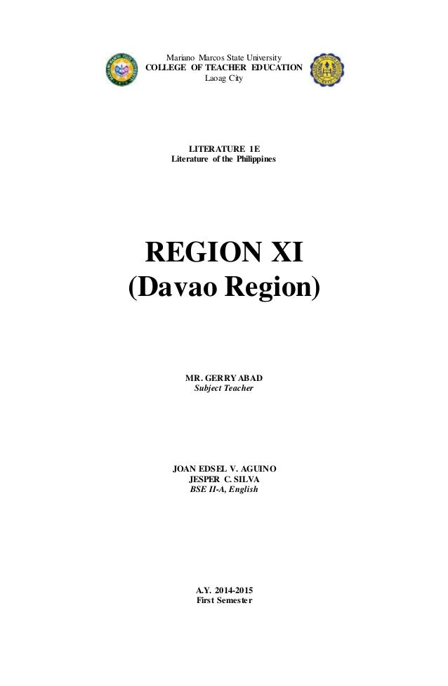 Davao Region (Philippine Literature)