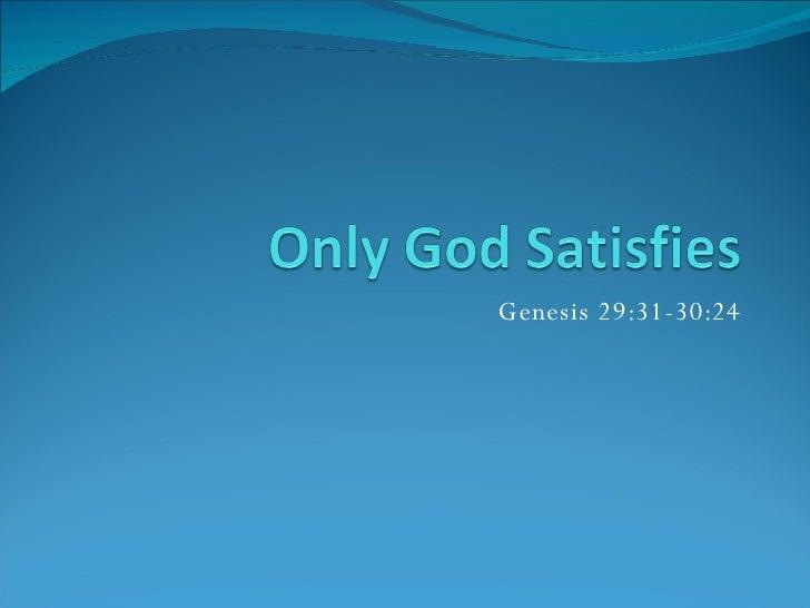 Genesis 29:31-30:24