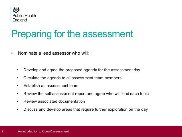 Dave Jones: NICE Guidance & the importance of self-assessment
