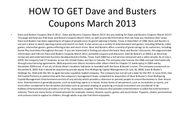 picture regarding Dave and Busters Printable Coupons known as Dave And Busters Printable Coupon codes March 2013 - Dave And
