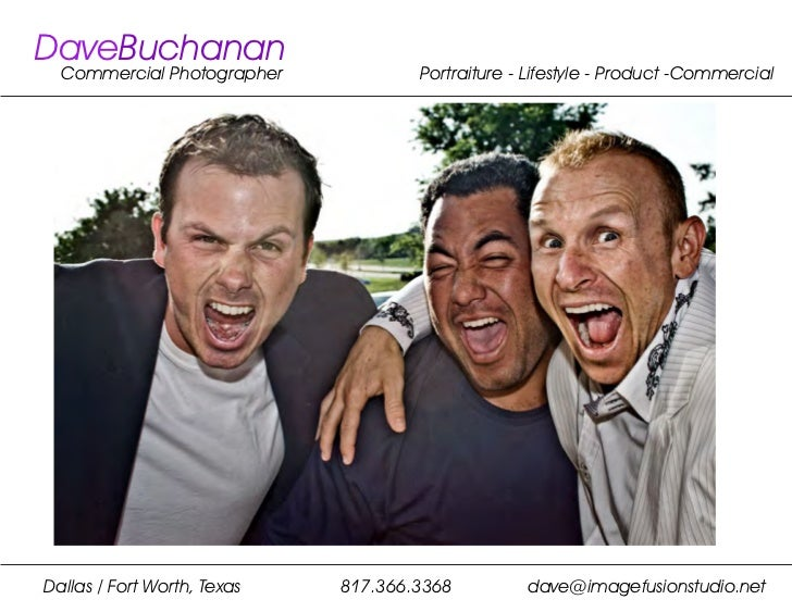 DaveBuchanan  Commercial Photographer            Portraiture - Lifestyle - Product -CommercialDallas / Fort Worth, Texas  ...