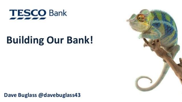 Building Our Bank!  Dave Buglass @davebuglass43