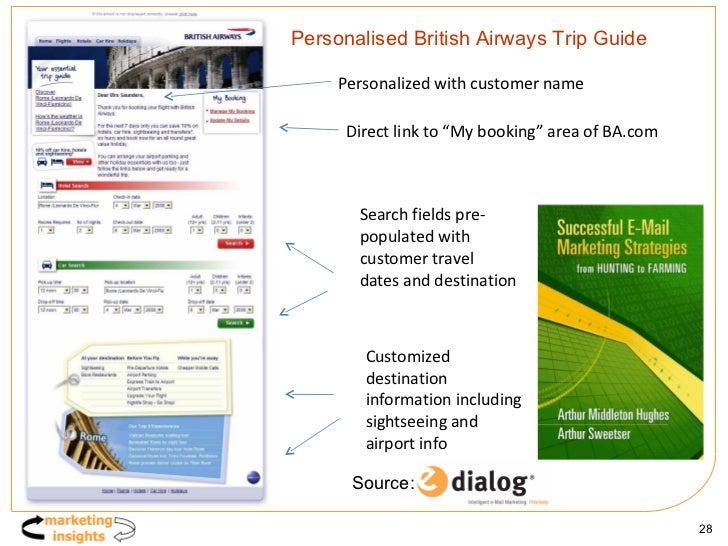 """Personalised British Airways Trip Guide Personalized with customer name Direct link to """"My booking"""" area of BA.com Search ..."""