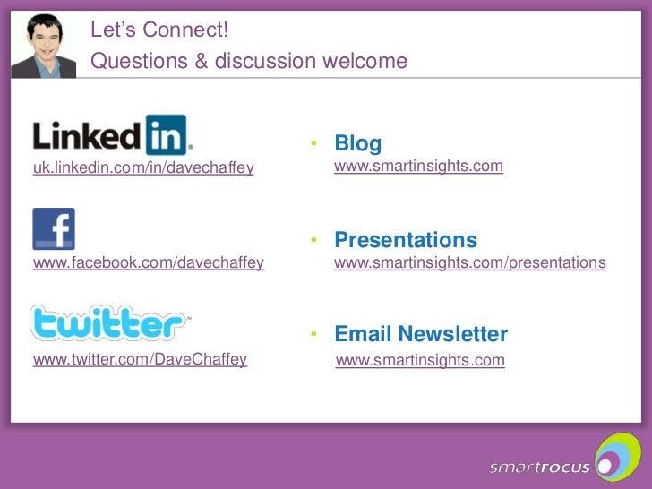 Integrating email and social media Slide 3