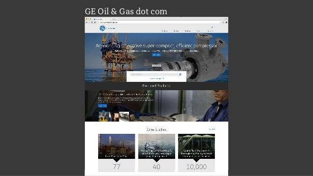 GE Oil & Gas dot com