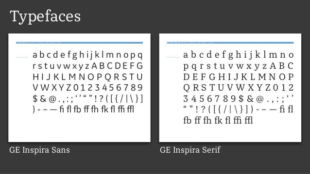 Typefaces GE Sans Beta 03 overview / 20131002 / Bold Monday / page 2 GE Sans Beta 03 a b c d e f g h i j k l m n o p q r s...