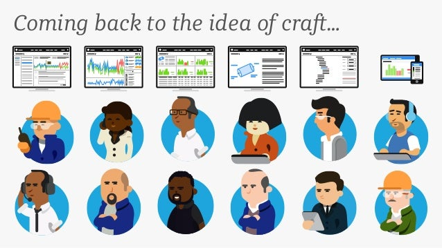 Coming back to the idea of craft…