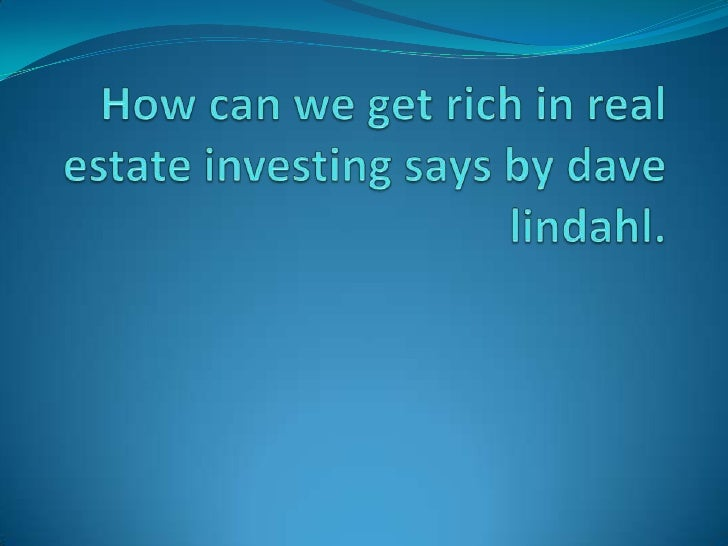 Introduction Dave lindhal says that four important differences  between an amateur real estate investor and a real  profe...