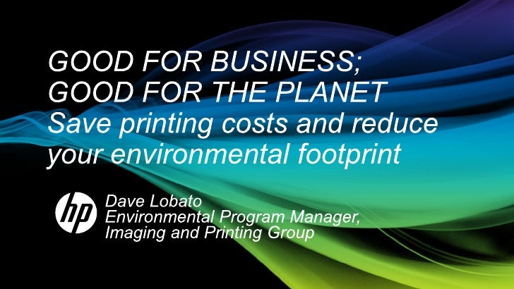 IT leaders face a mounting imperative    save money and reduce environmental impactTrends•   30% of infrastructure purchas...
