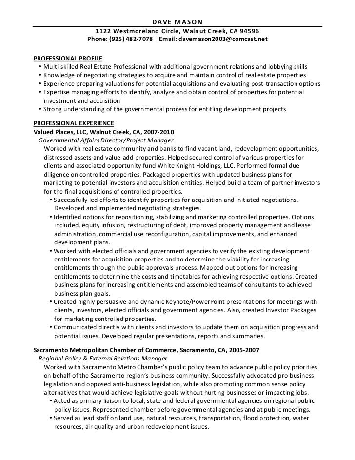 real estate resume real estate resume sample resume templates - Real Estate Manager Resume